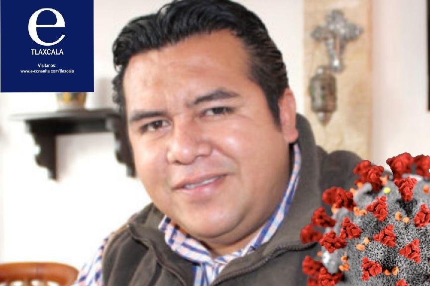 Aíslan al presidente municipal de Tzompantepec, dio positivo a Covid