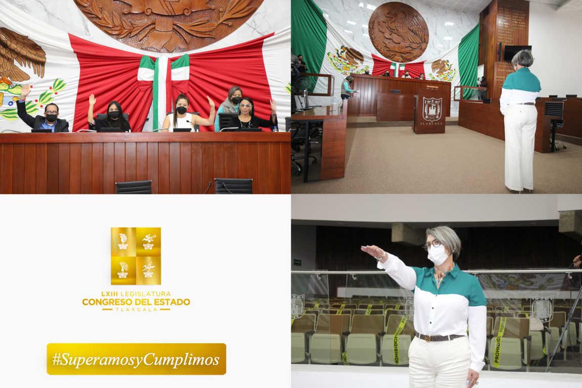 Congreso toma protesta a Jakqueline Ordóñez como presidenta de la CEDH