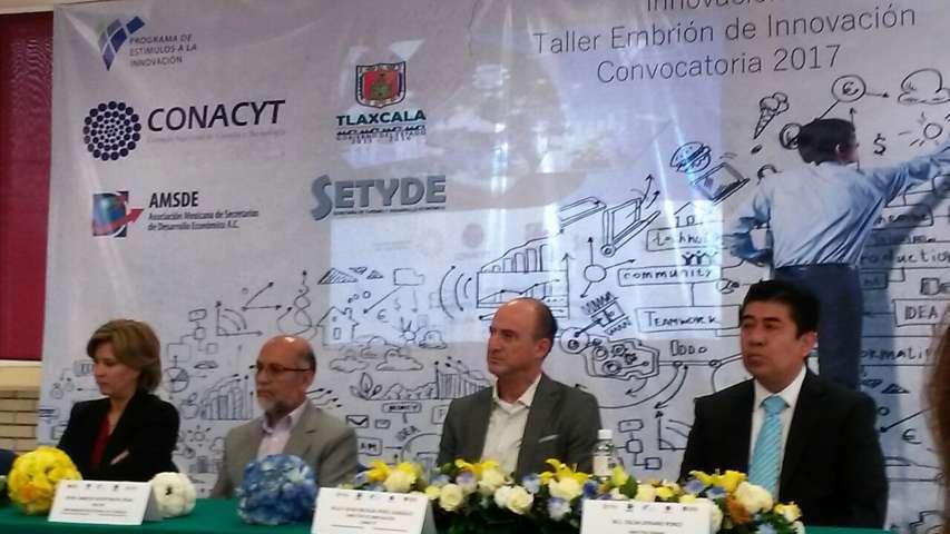 Presenta Conacyt convocatoria de programa de estímulso a la innovación 2017