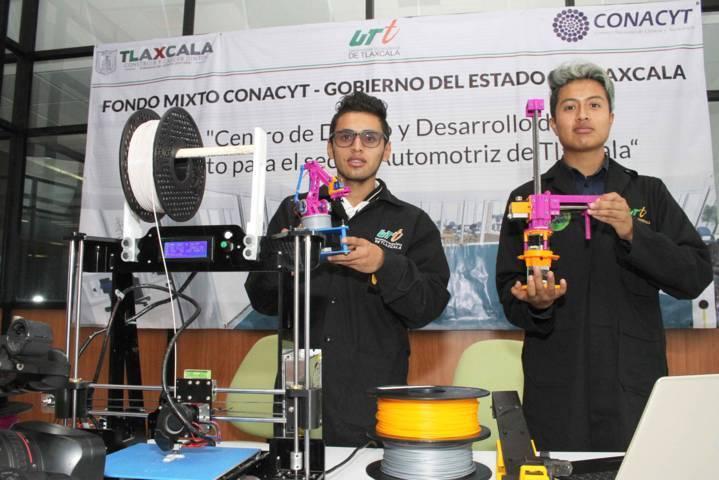 Fortalece Centro De Desarrollo Automotriz del Conacyt calidad educativa de Universidad Tecnológica