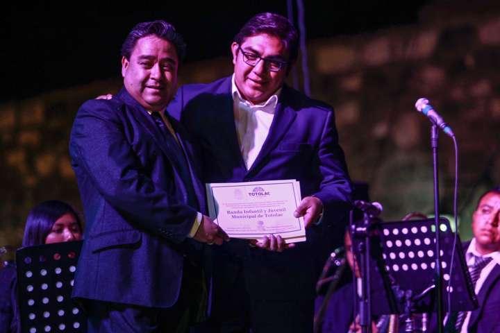 Banda Infantil y Juvenil Municipal de Totolac celebra 3er aniversario