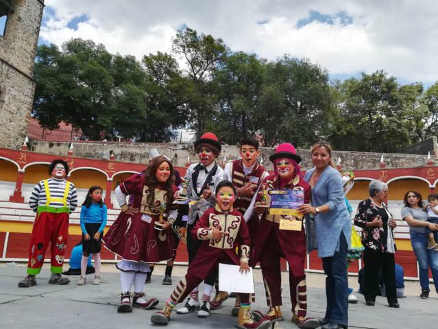 Alegría y diversión se vivió en el Concurso Estatal de Payasos