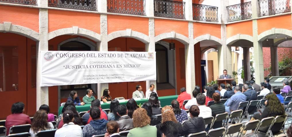 """Disertan en Congreso """"Justicia Cotidiana en México"""""""