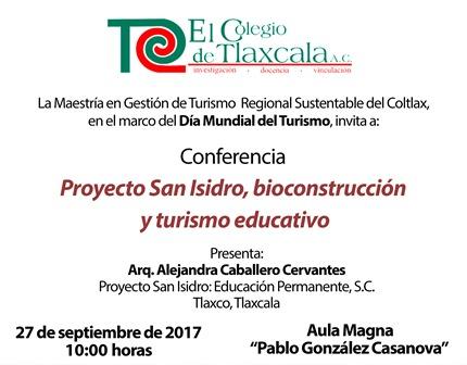 Invitan a conferencia para celebrar el Día Mundial del Turismo