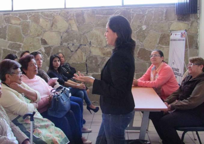 Continúa comuna capitalina con actividades de la Semana de la Mujer