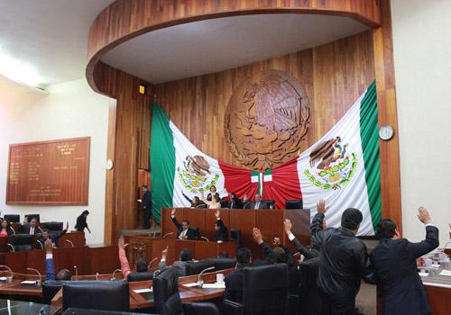 Aprueban diputados locales cuenta pública del Poder Judicial