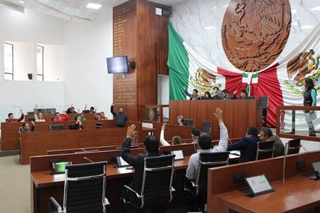 Diputados avalan cuenta pública 2017 de 26 entes públicos