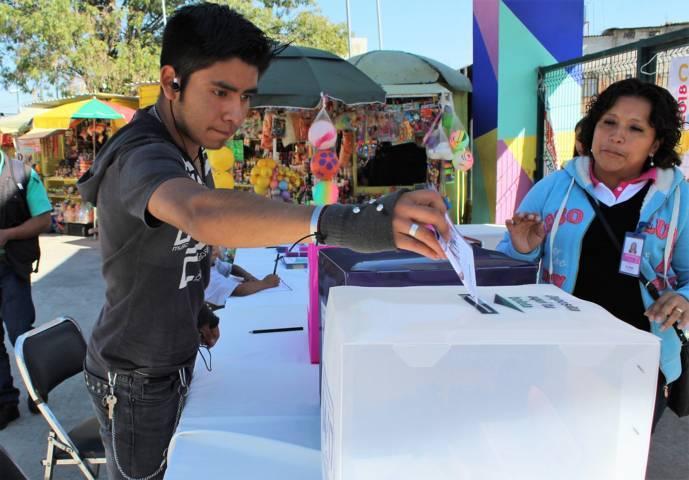 Con muy poca participación, inició en Tlaxcala la Consulta Infantil Y Juvenil 2018
