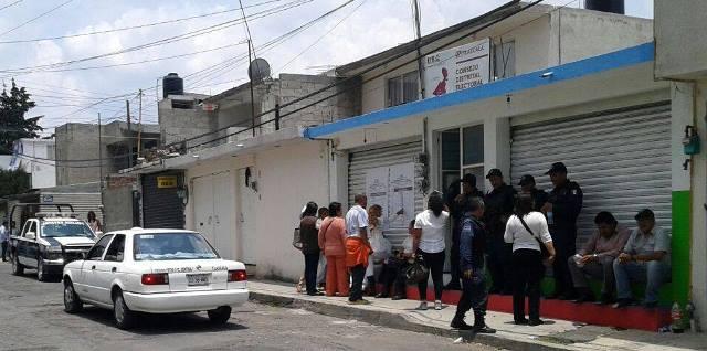 Cuidan burócratas del 7 de Mayo elección en Consejo Distrital de Tlaxcala