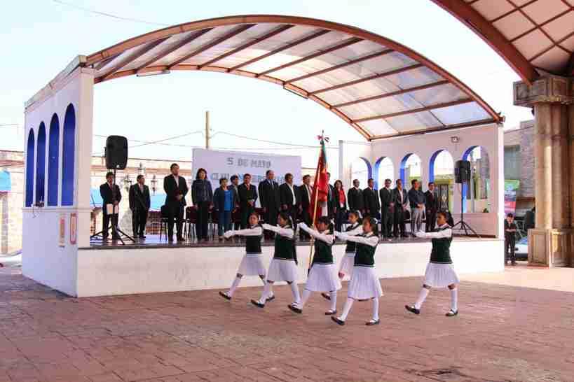 """Conmemoran de Contla  un  aniversario más de la """"Batalla de Puebla"""""""