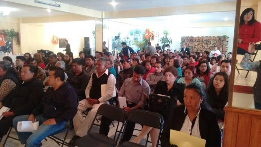 Eligen delegados para renovar dirigencia estatal del MC