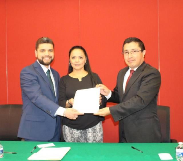 El Congreso local signa convenio con Escuela Superior de Derecho