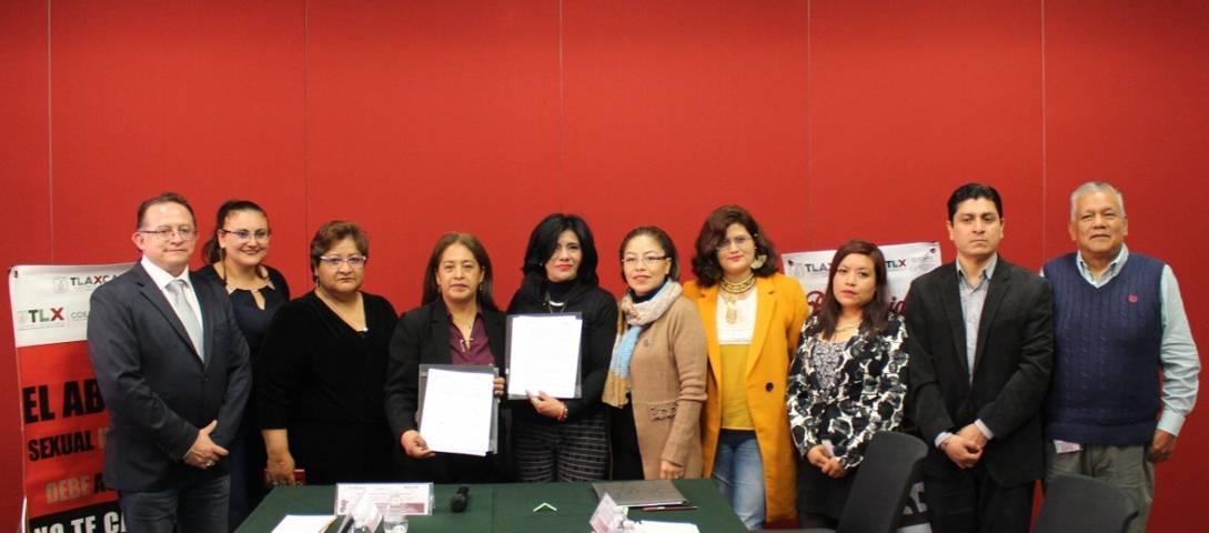 Signa Congreso colaboración con Coespo-Sipinna para apoyar a la niñez tlaxcalteca