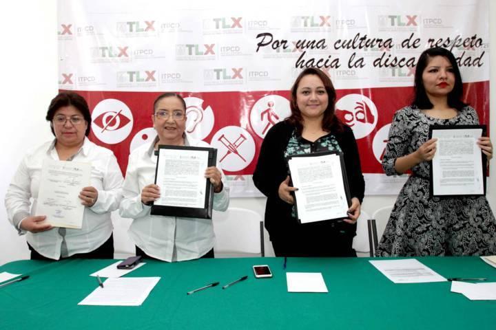 Signan ITPCD e INAPAM convenio para la atención de los adultos mayores