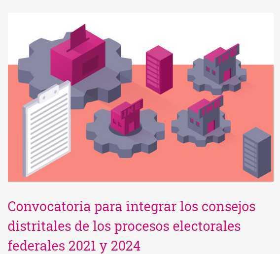 INE Tlaxcala mantiene abierta convocatoria a consejeros y consejeras electorales distritales