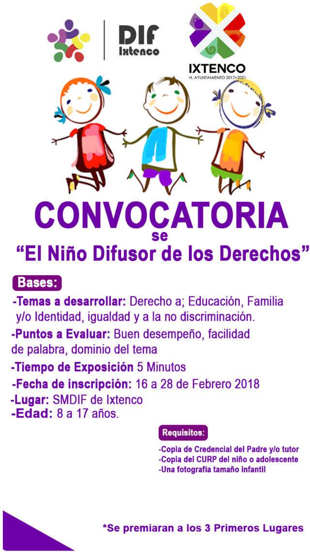DIF Municipal de Ixtenco abre convocatoria para encontrar niño difusor