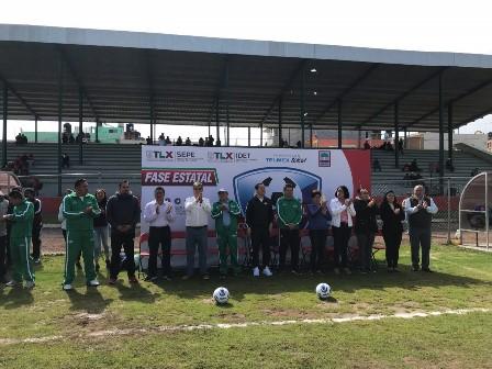 Inauguran fase estatal de Copa Telmex de fútbol