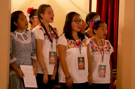 Arranca una edición más del festival internacional de coros