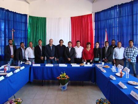 Sostiene Juan Corral reunión con alcaldes de la zona norponiente