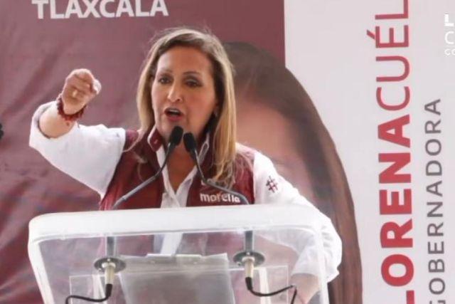 Vamos a acabar con la corrupción: Lorena