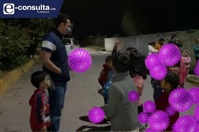 Se siguen muriendo por Covid en Apetatitlán, alcalde amoroso poco el importa