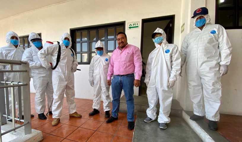 Refuerza Xicohtzinco medidas preventivas ante COVID-19