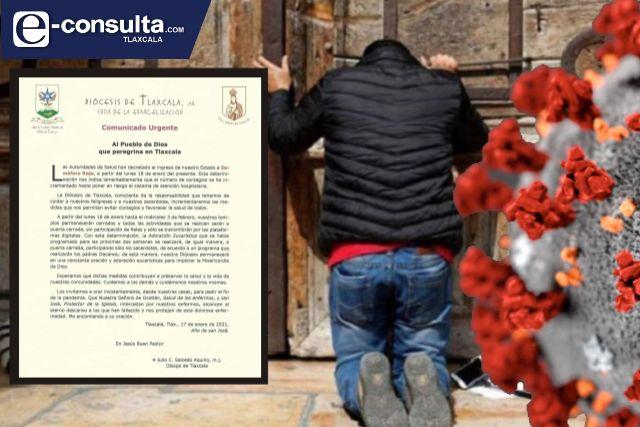 Iglesias vuelven a cerrar sus puertas, contagios de Covid van en aumento