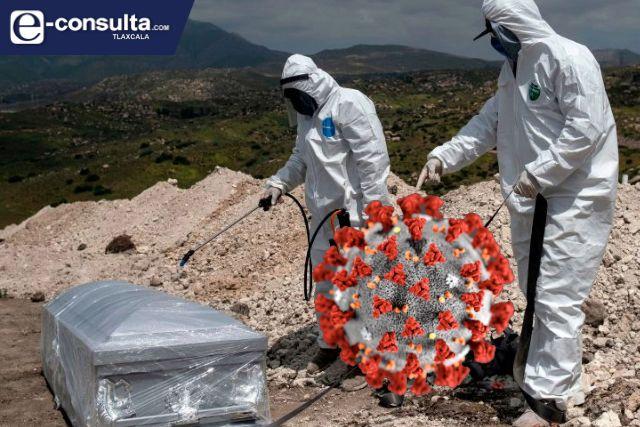 INEGI: en ocho meses han muerto ocho mil 44 tlaxcaltecas por Covid