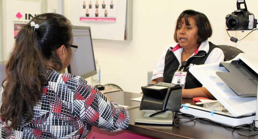 Módulos del INE Tlaxcala brindan atención los sábados