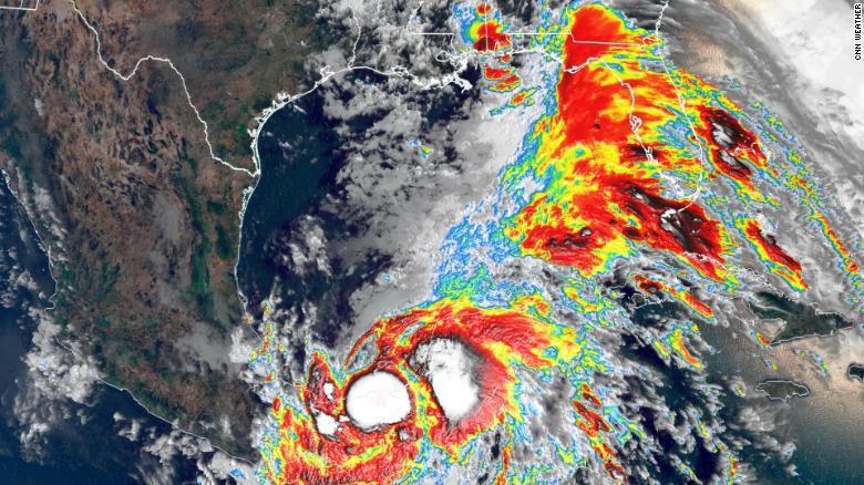 Cristobal nuevamente alcanza la categoría de tormenta tropical