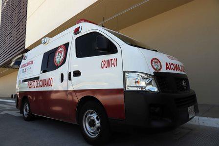 CRUM ofreció atención médica a lesionados de accidente en carretera