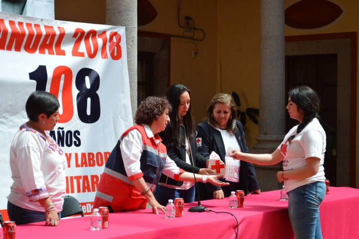 Es momento de apoyar podemos necesitar de la Cruz Roja: Reyna María