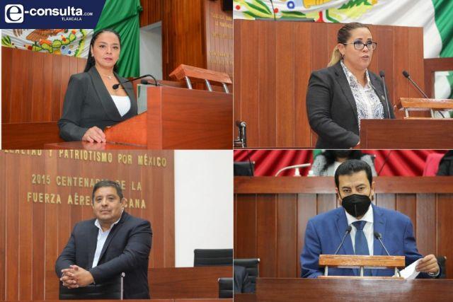 Cuatro diputados van por el mismo número de alcaldías en Morena