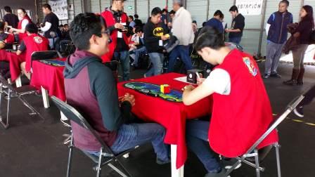 Es sede el Polideportivo de Tlaxcala de Torneo Nacional de Cubo Rubik