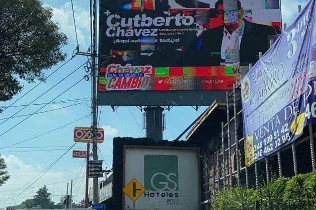 Equipo de Cutberto Chávez derrocha dinero ante posible desesperación
