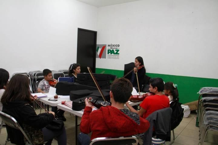 Invita cultura municipal de Tlaxcala a inscribirse a cursos de música y arte