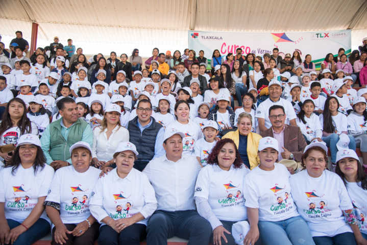 Inicia Curso de Verano en la capital con más de 500 niñas y niños