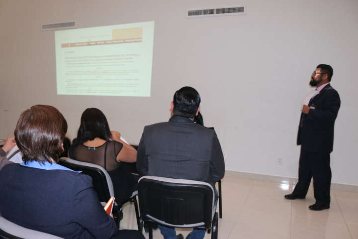 Imparte INACIPE curso a personal de la PGRT