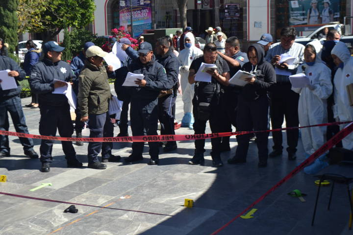Alcalde profesionaliza 40 policías municipales en Cadena de Custodia