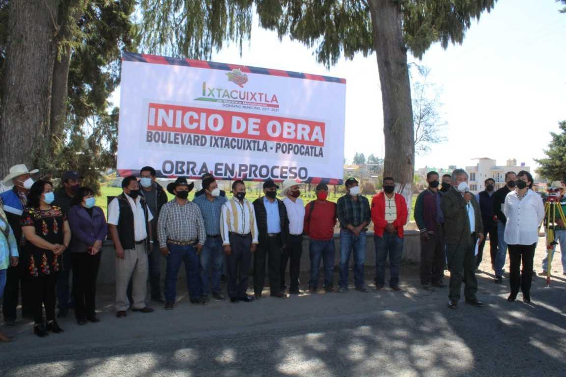 Con ahorros, alcalde de Ixtacuixtla construirá Boulevard Ixtacuixtla – Popocatla