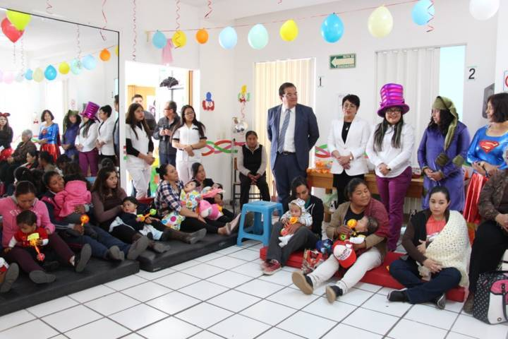 Ayuntamiento de Huamantla festejaron a los niños de la UBR
