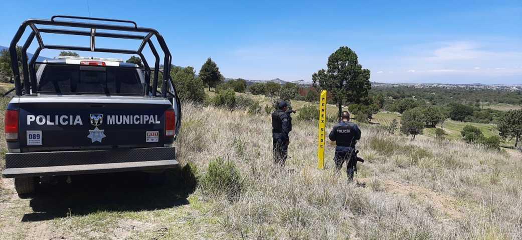 Frustran toma clandestina de combustible en Tetla