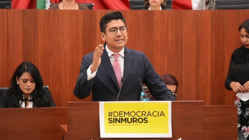 #DemocraciaSinMuros, el Congreso debe permanecer abierto: Covarrubias