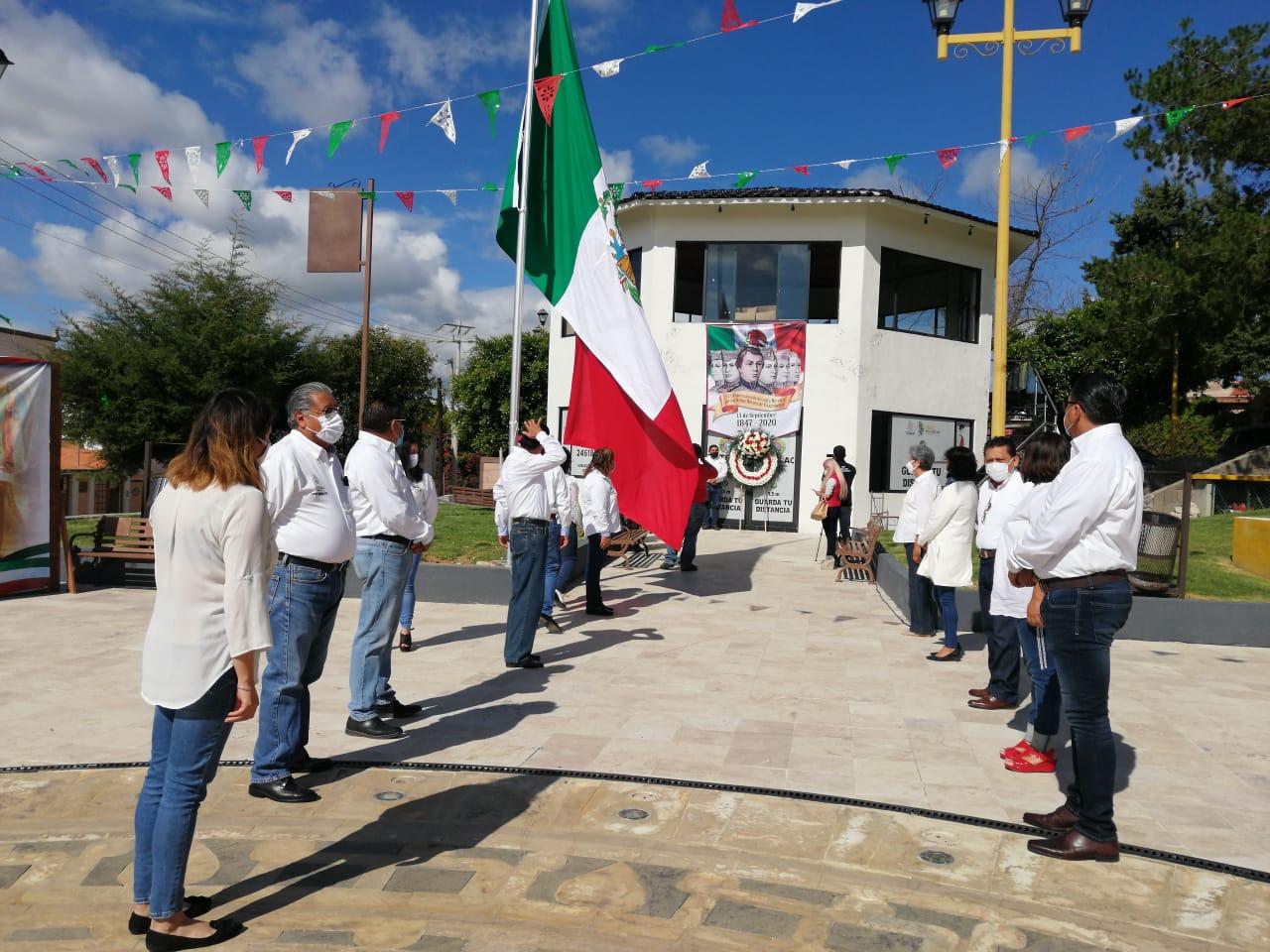 Encabeza Giovanni Pérez Briones ceremonia del 173 Aniversario de la Gesta de los Niños Héroes
