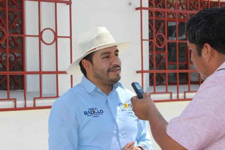 Seré un aliado permanente del cuidado del medio ambiente en Apizaco: Pablo Badillo