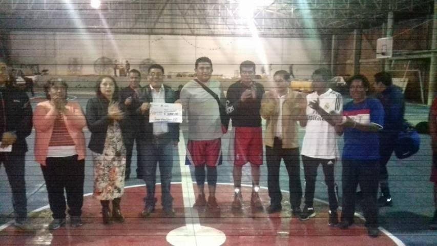 Alcalde fomenta el deporte en el municipio con torneo de basquetbol