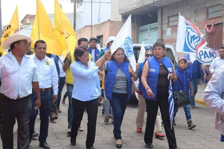 Más de mil personas acompañan a Dulce Mastranzo en SPM