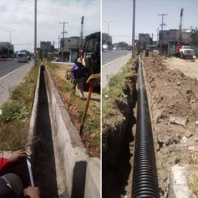Entuban el agua del Pozo de Riego No1 en Guardia, a petición de Campesinos