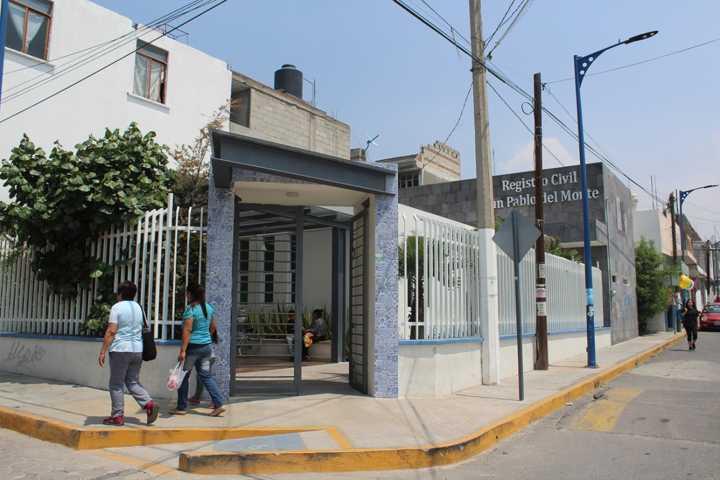 Registro Civil de San Pablo Del Monte continúa trabajando