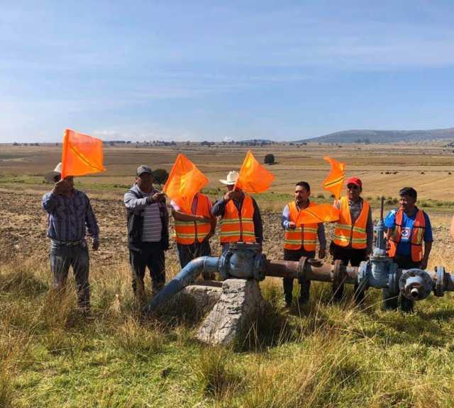 Alcalde pone en marcha trabajos de rehabilitación del pozo de agua en Techalote